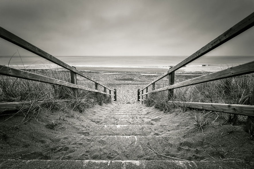 Bunmahon Beach Steps