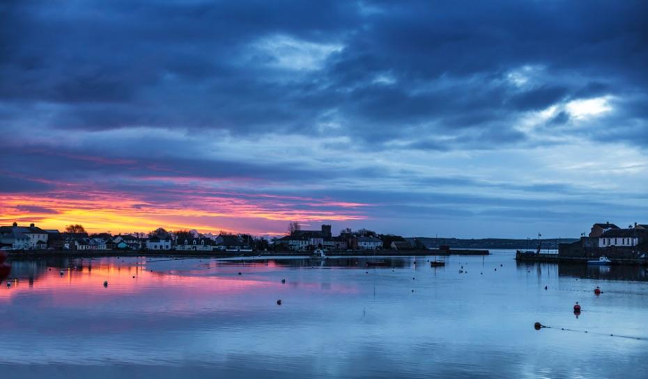Dungarvan-Dawn-blue-hour