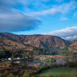Gougane Barra from-the-Hill-