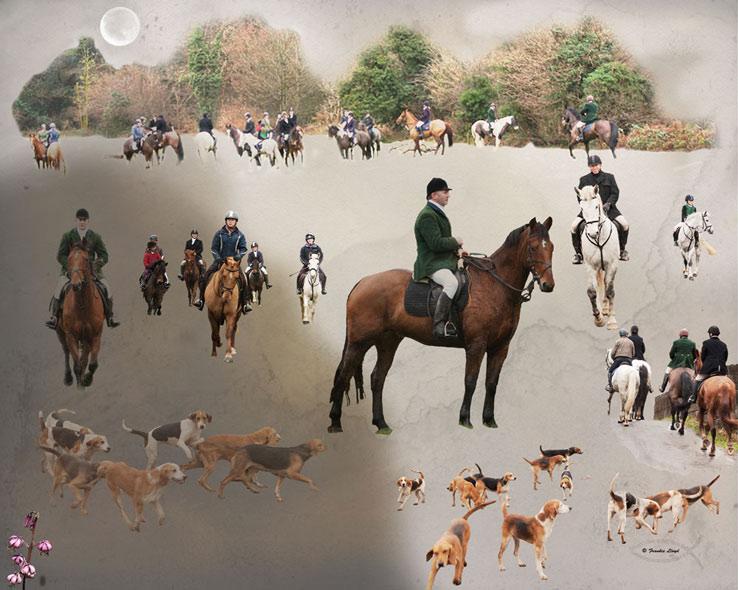 Hunt-collage