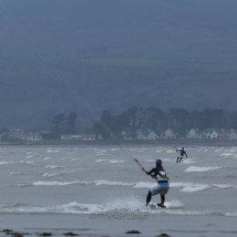 Kitesurfer-Pair