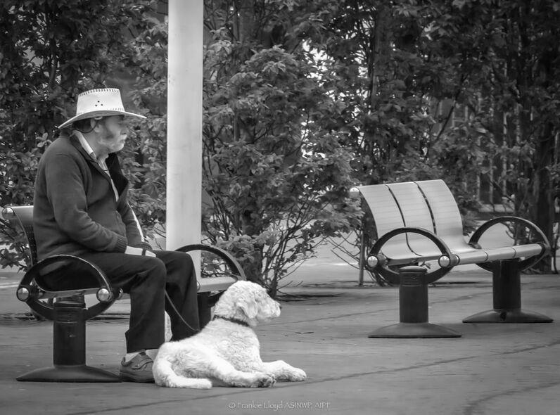 Man-&-Dog-B&W