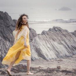 Model Aoife Begley at Owenahincha 1