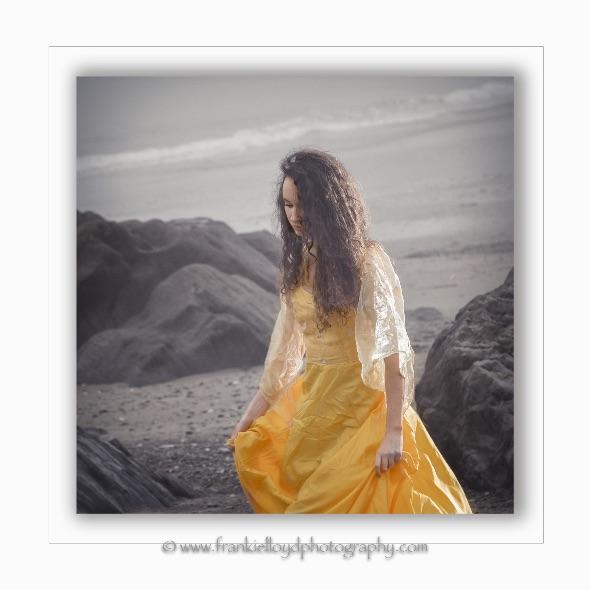 Model Aoife Begley at Owenahincha 2