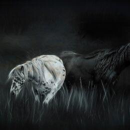 Mountain-Horses-Ocean-Glaze-12x8