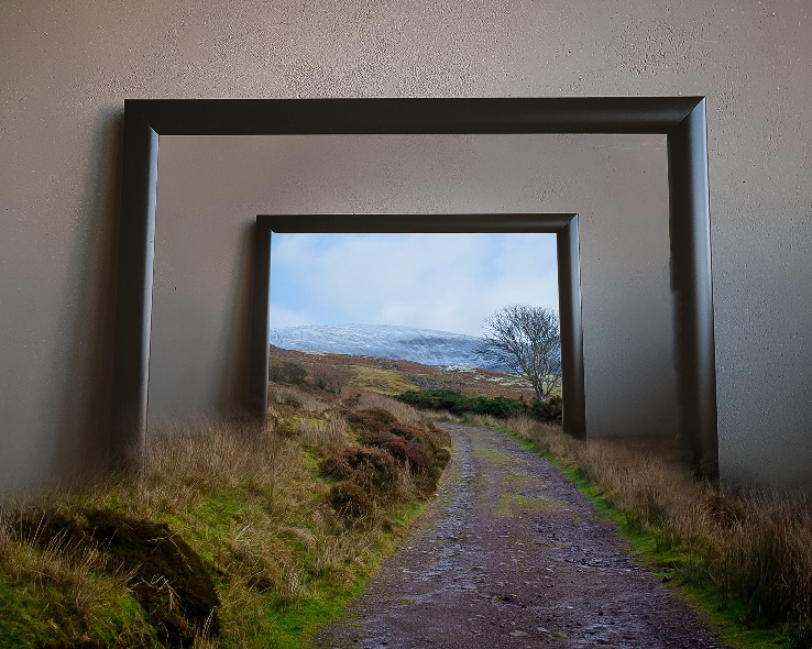 Nire-Lake-walk-Frame 20x16