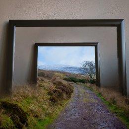 Nire-Lake-walk-Frame 20x16