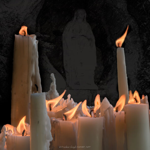 Our-Lady-behind-candles