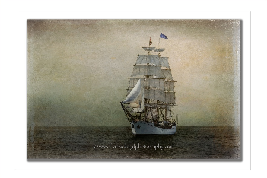 Tall-ship off Dunmore East