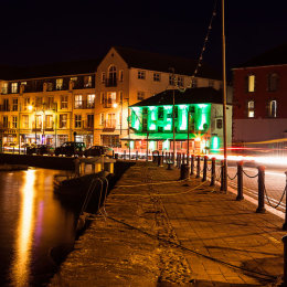 The-Anchor,-Green,-Paddys-night