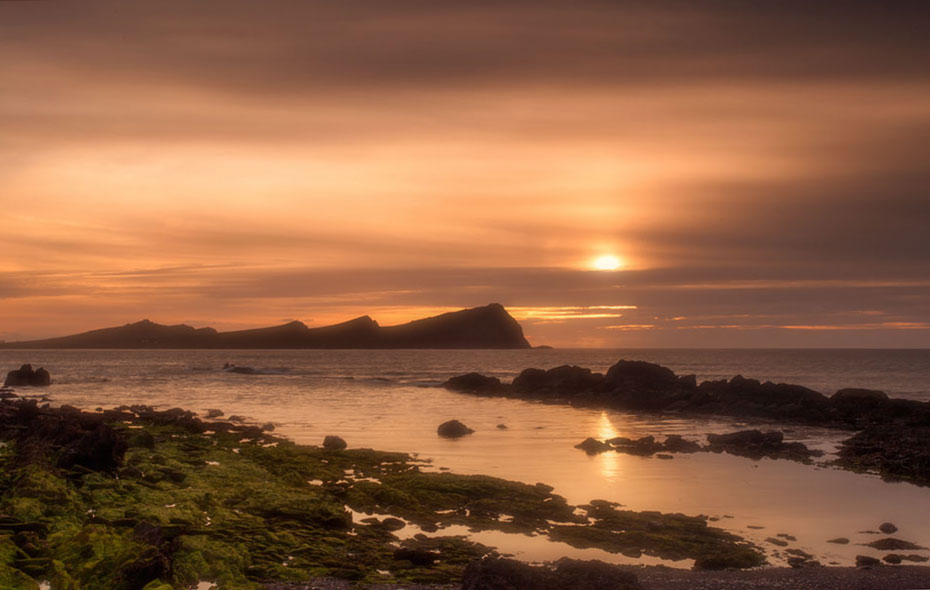 Three sisters sunset Kerry