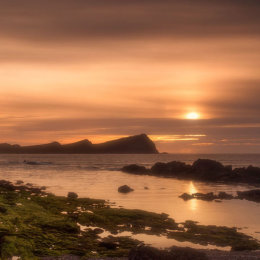 Three sisters sunset Kerry