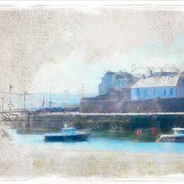 Watercolour-of-Dungarvan-Quay