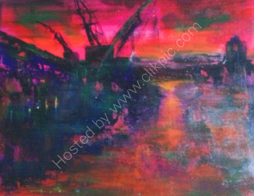 Dockyards:sunset