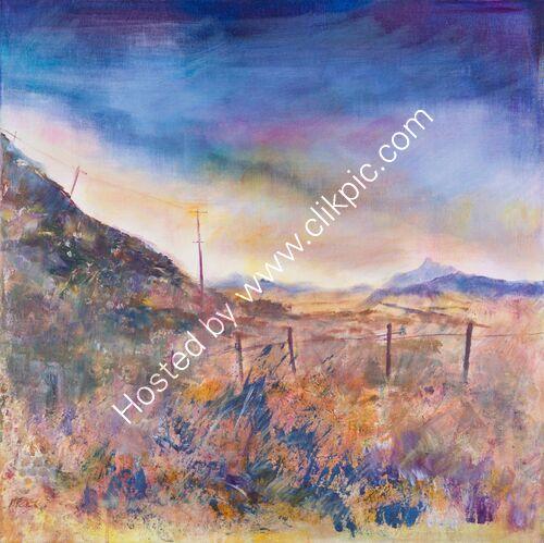 Distant Hills, Looking to Ben Lomond