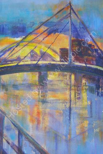 River Clyde from Millennium Bridge