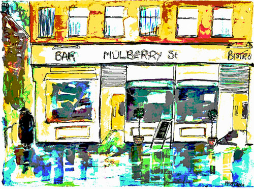 A pint and a puff: Sunday at Mulberry Street