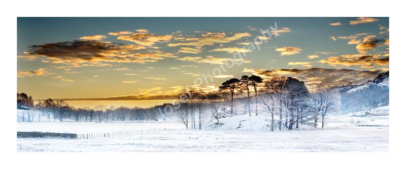 Sunrise In Baysbrown Langdale