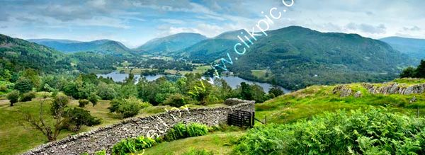 Grasmere Village From High Close