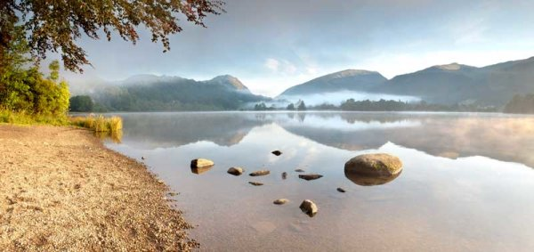 Early Morning Mist On Grasmere