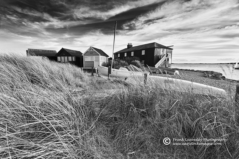 Black House From The Dunes