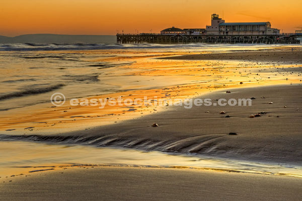 Bournemouth Pier Afterglow