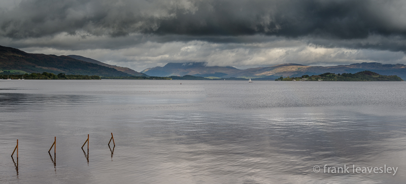 Cloudy Loch Lomond