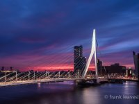 Dawn The Erasmus Bridge