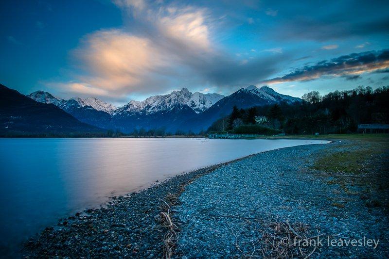 Daybreak Lake Como