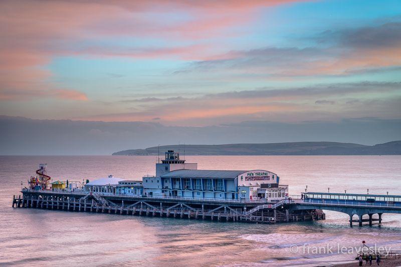 Dusk Bournemouth Pier
