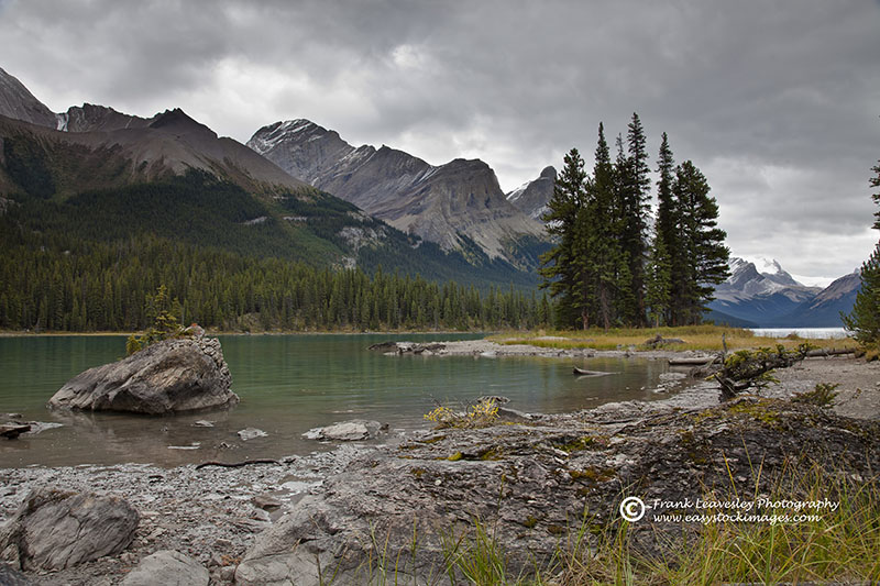 Maligne Lake And Spirit Island