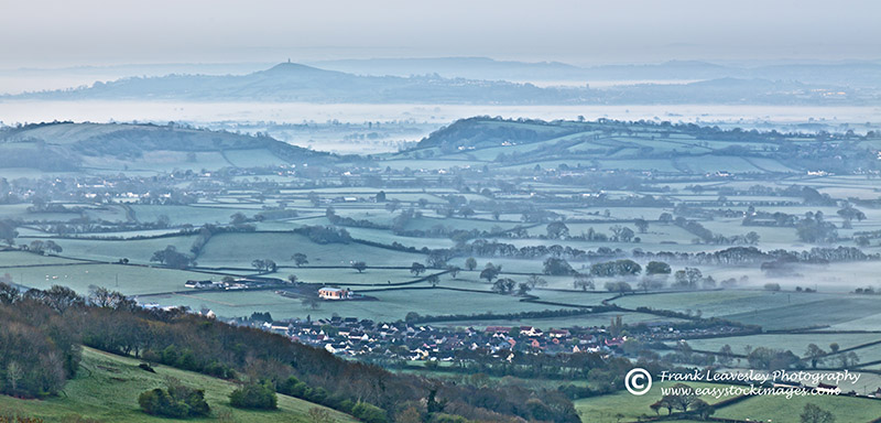 Mist Somerset Levels