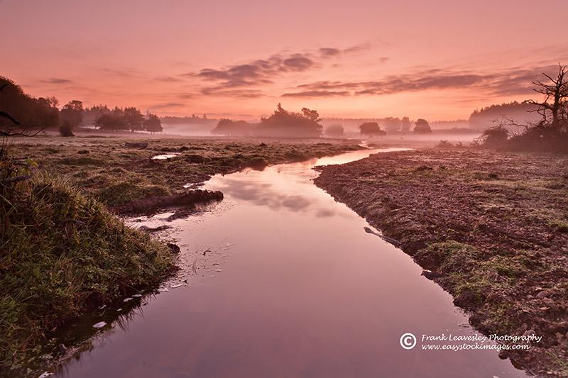 Misty Start Ober Water