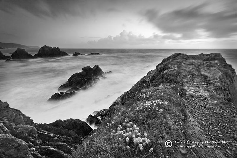 Stormy Sea Hartland Quay
