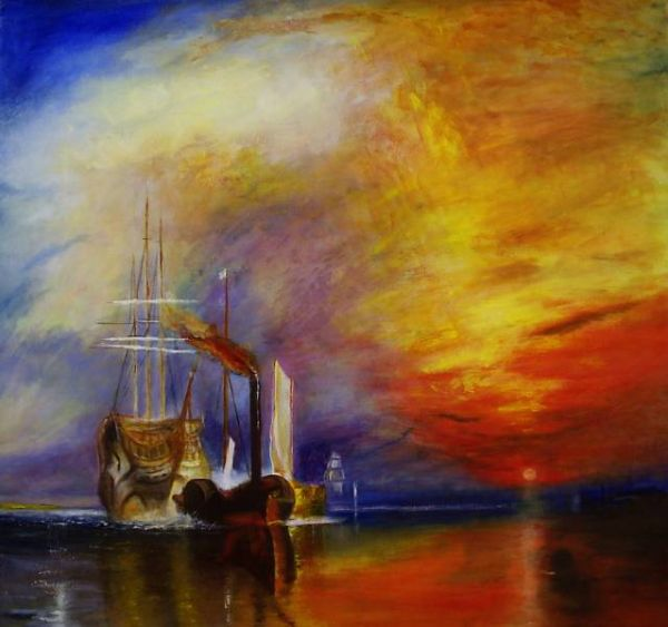 After Turner The Fighting Tremeraire