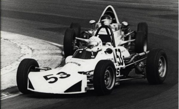 Winning at Brands Hatch 1976