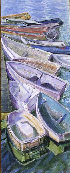 Boats in Lymington