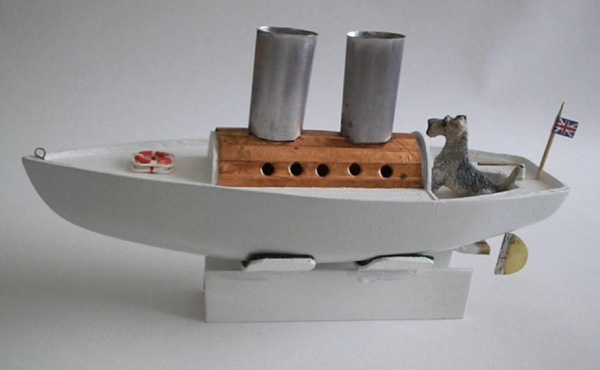 Scratch Built Wooden Steam Powered Model Boat