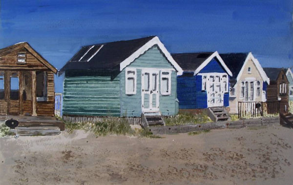 Beach Huts Hengistbury Head