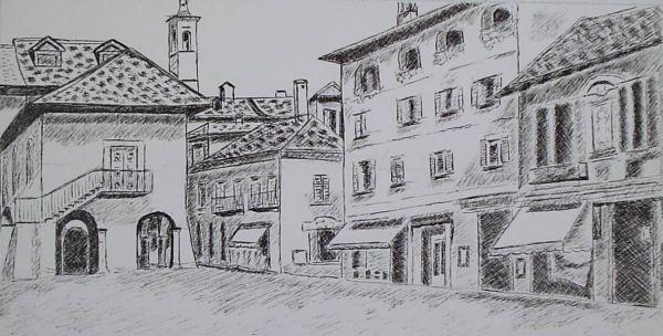 Italian Street Scene