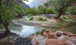 Zion NP - Virgin River
