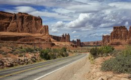 Arches NP - Scenic Road