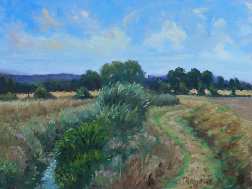 August afternoon beside The Rother