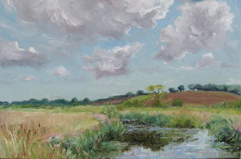 August afternoon - the River Rother, Newenden
