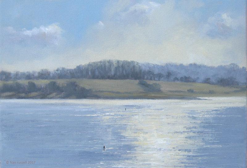 Bewl Water in January Sun
