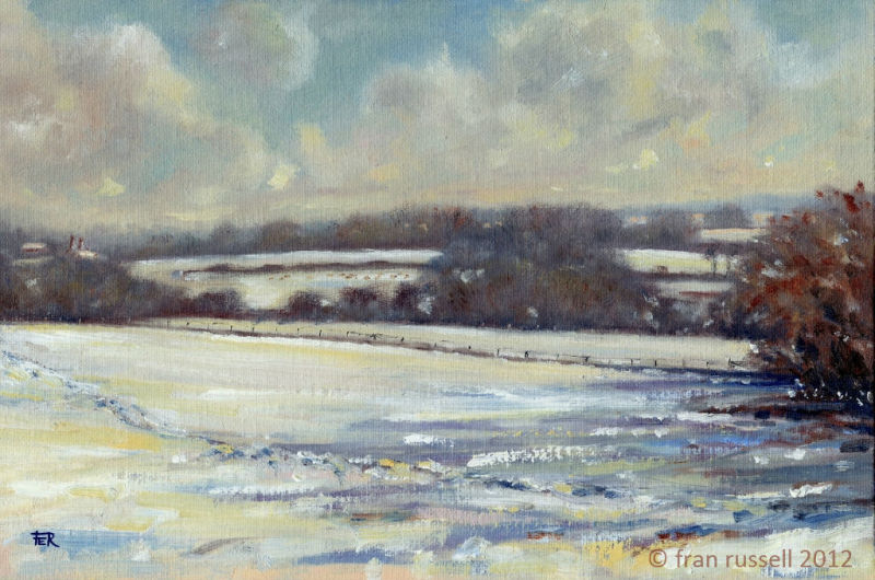 February Snow, Rolvenden