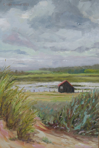 Hut with the Red Roof, Rye Harbour