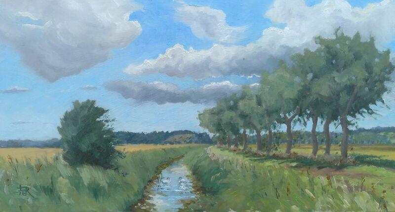 A summer's day, Romney Marsh