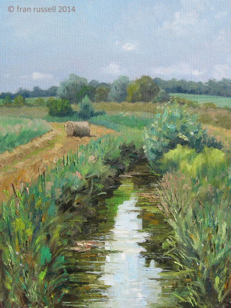 June afternoon beside The Rother
