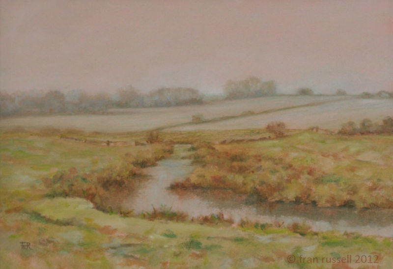 November Mist - The Rother at Bodiam